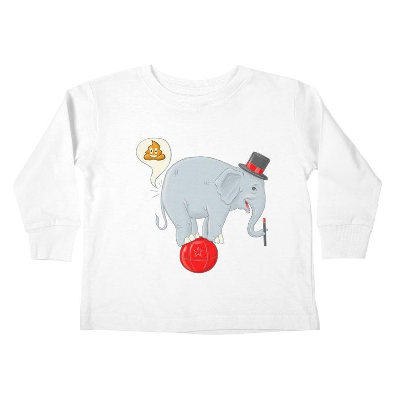 Backdoor Magic Kids Toddler Longsleeve T-Shirt by brandongarrison's Artist Shop