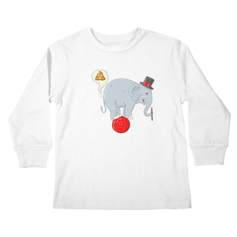 Backdoor Magic Kids Longsleeve T-Shirt by brandongarrison's Artist Shop