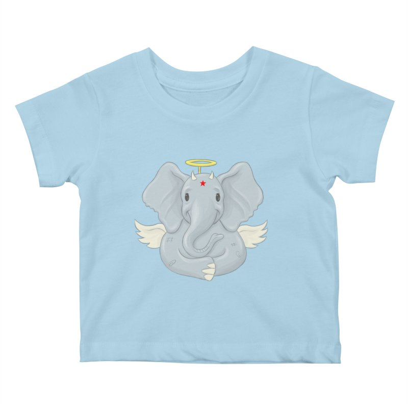 Always Innocent Kids Baby T-Shirt by brandongarrison's Artist Shop