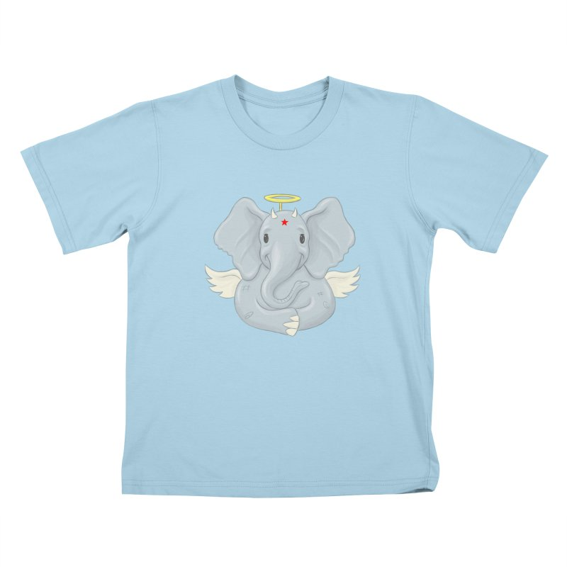 Always Innocent Kids T-Shirt by brandongarrison's Artist Shop