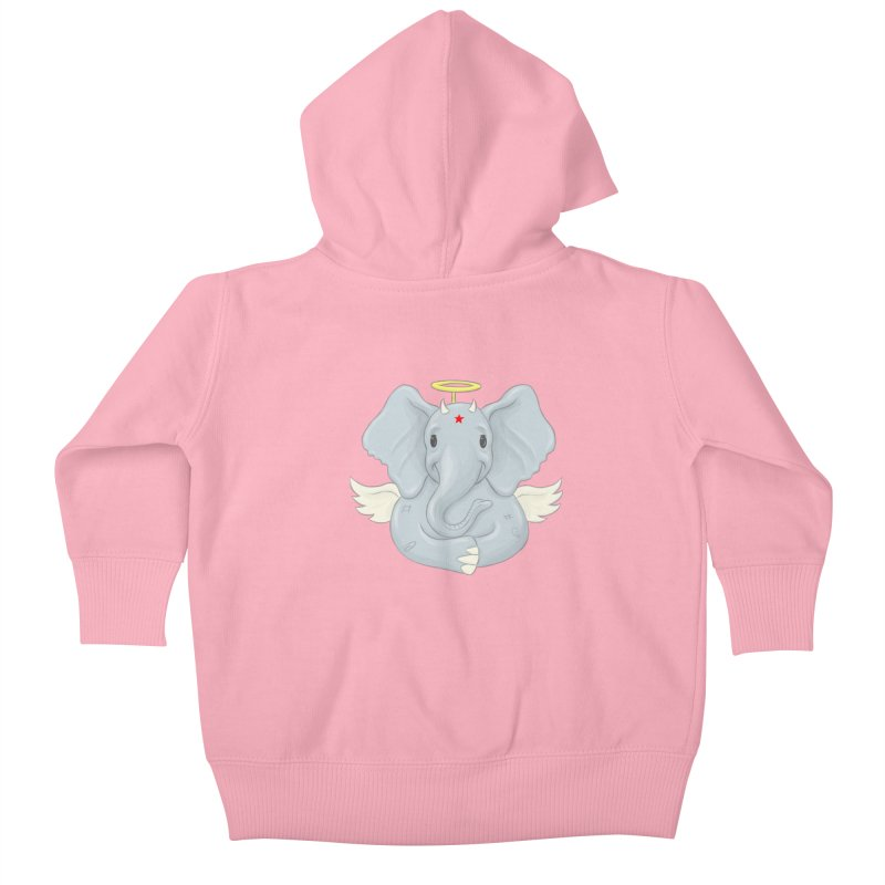 Always Innocent Kids Baby Zip-Up Hoody by brandongarrison's Artist Shop