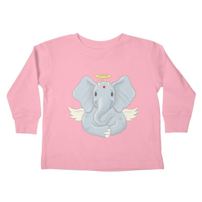 Always Innocent Kids Toddler Longsleeve T-Shirt by brandongarrison's Artist Shop