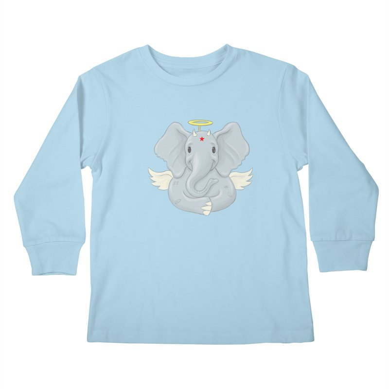Always Innocent Kids Longsleeve T-Shirt by brandongarrison's Artist Shop