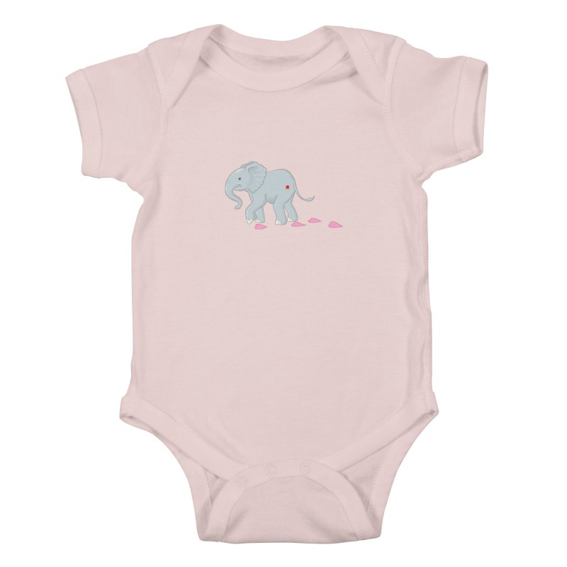 Baby Steps Kids Baby Bodysuit by brandongarrison's Artist Shop