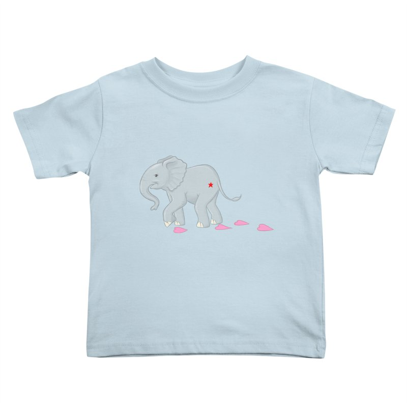 Baby Steps Kids Toddler T-Shirt by brandongarrison's Artist Shop