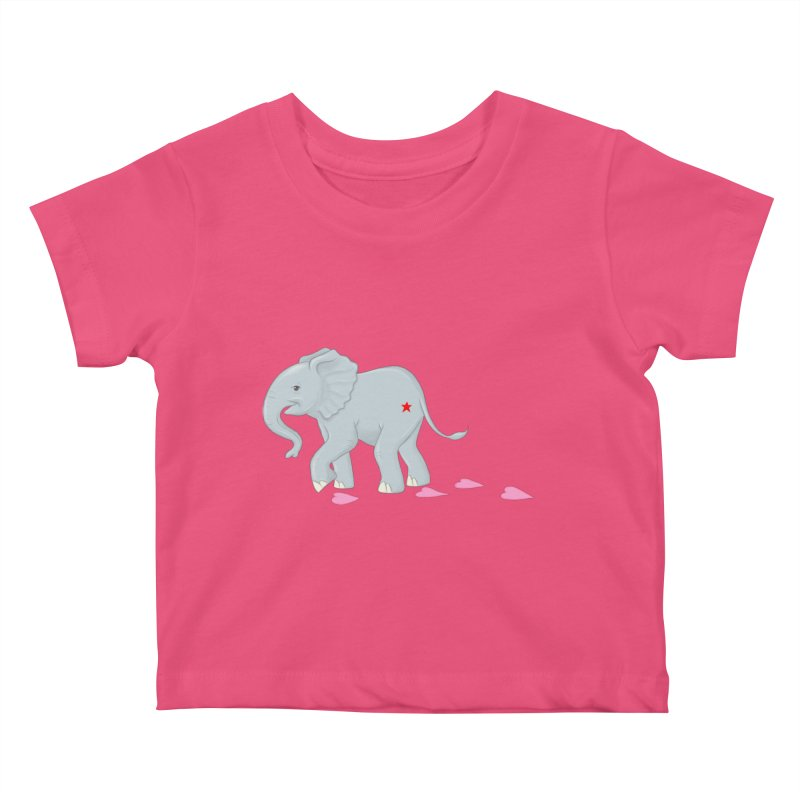 Baby Steps Kids Baby T-Shirt by brandongarrison's Artist Shop