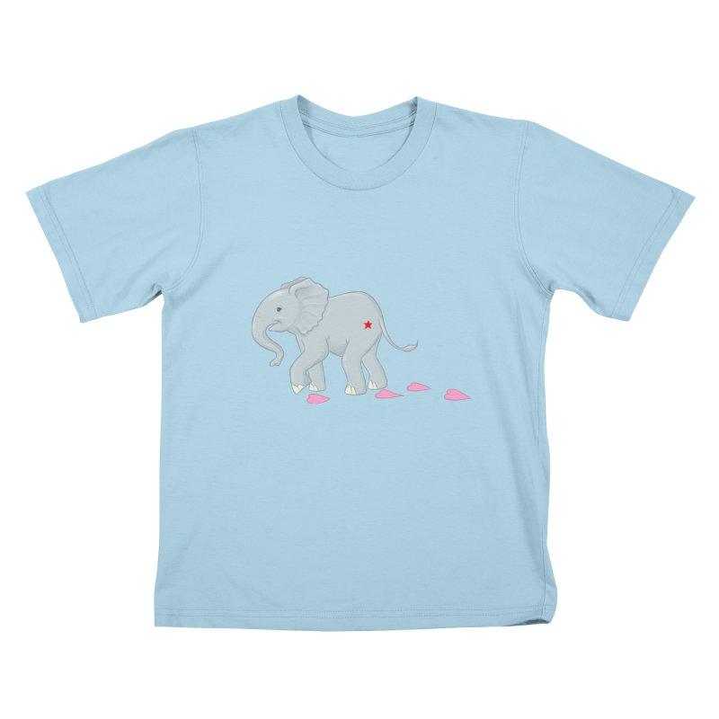 Baby Steps Kids T-Shirt by brandongarrison's Artist Shop