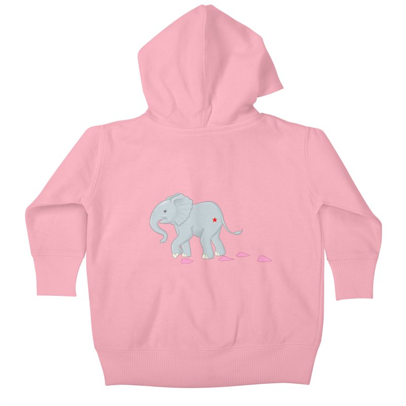 Baby Steps Kids Baby Zip-Up Hoody by brandongarrison's Artist Shop