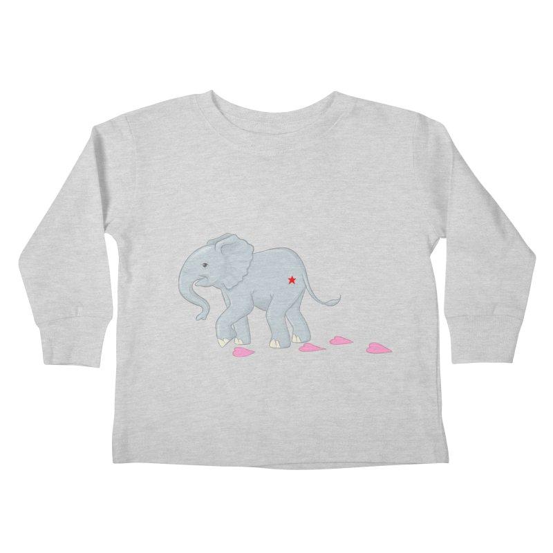 Baby Steps Kids Toddler Longsleeve T-Shirt by brandongarrison's Artist Shop