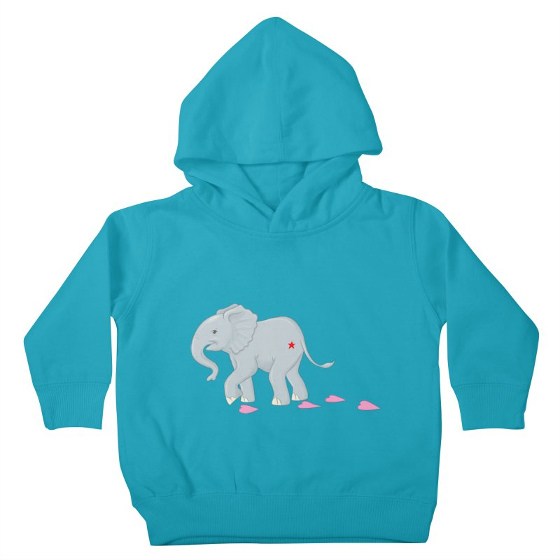 Baby Steps Kids Toddler Pullover Hoody by brandongarrison's Artist Shop