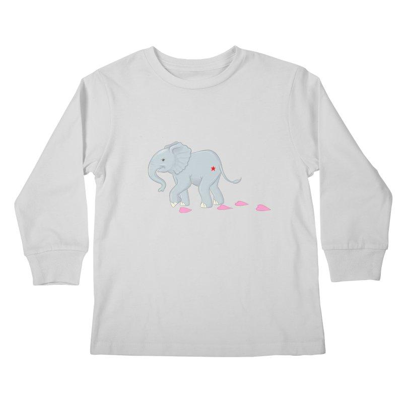 Baby Steps Kids Longsleeve T-Shirt by brandongarrison's Artist Shop