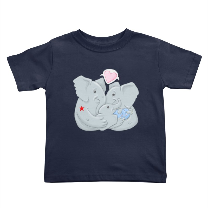 Huge Gift. Tiny Package. Kids Toddler T-Shirt by brandongarrison's Artist Shop