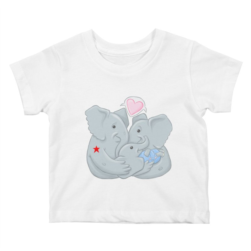 Huge Gift. Tiny Package. Kids Baby T-Shirt by brandongarrison's Artist Shop