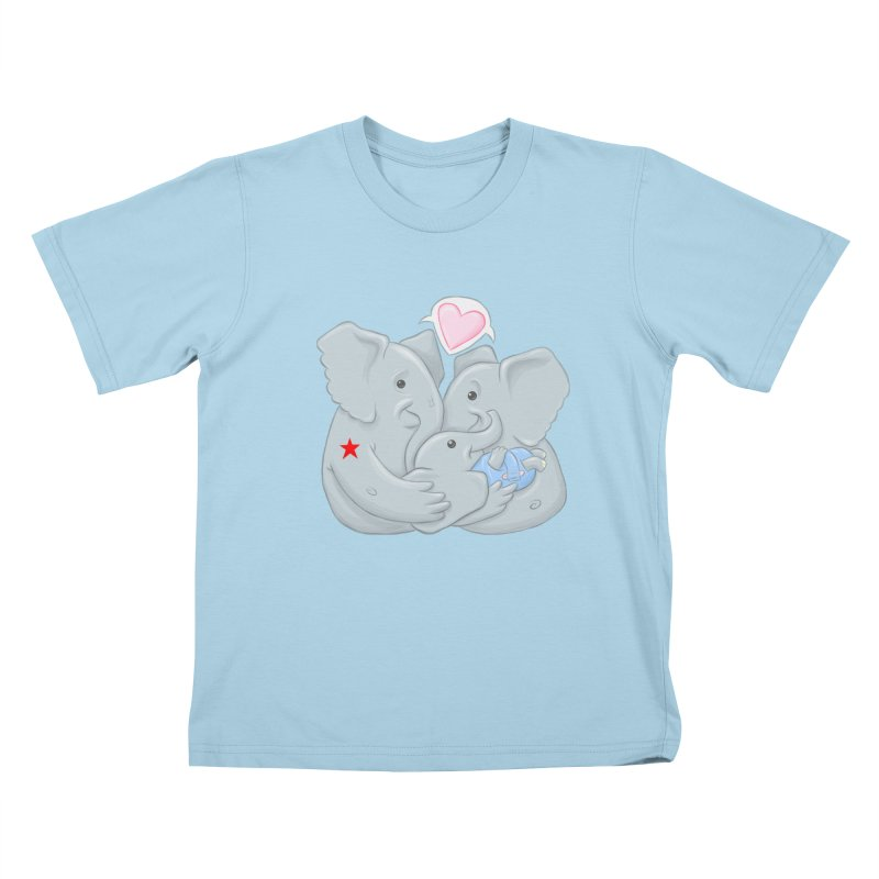 Huge Gift. Tiny Package. Kids T-Shirt by brandongarrison's Artist Shop