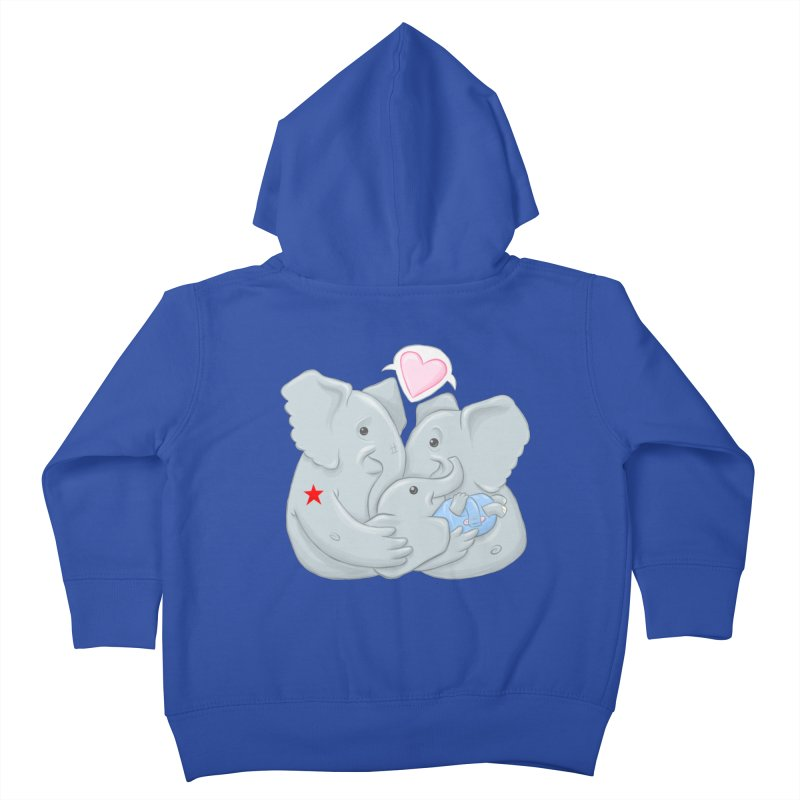 Huge Gift. Tiny Package. Kids Toddler Zip-Up Hoody by brandongarrison's Artist Shop