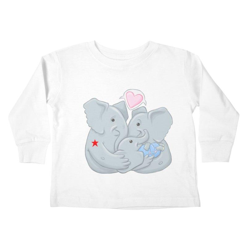 Huge Gift. Tiny Package. Kids Toddler Longsleeve T-Shirt by brandongarrison's Artist Shop