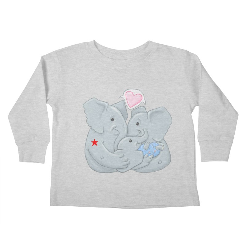 Huge Gift. Tiny Package. Kids Toddler Longsleeve T-Shirt by brandongarrison's Artist Shop