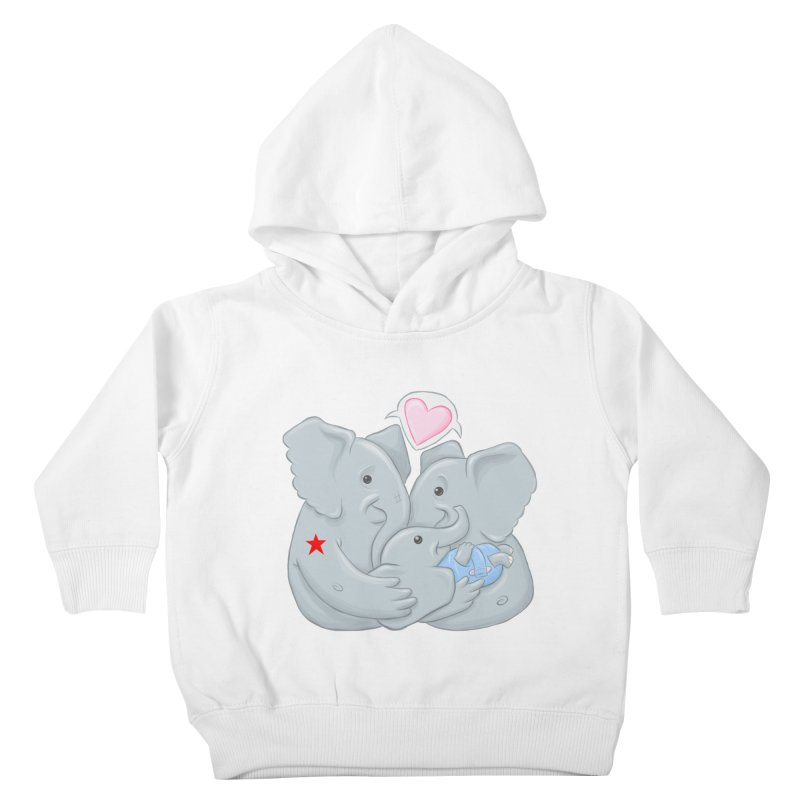 Huge Gift. Tiny Package. Kids Toddler Pullover Hoody by brandongarrison's Artist Shop