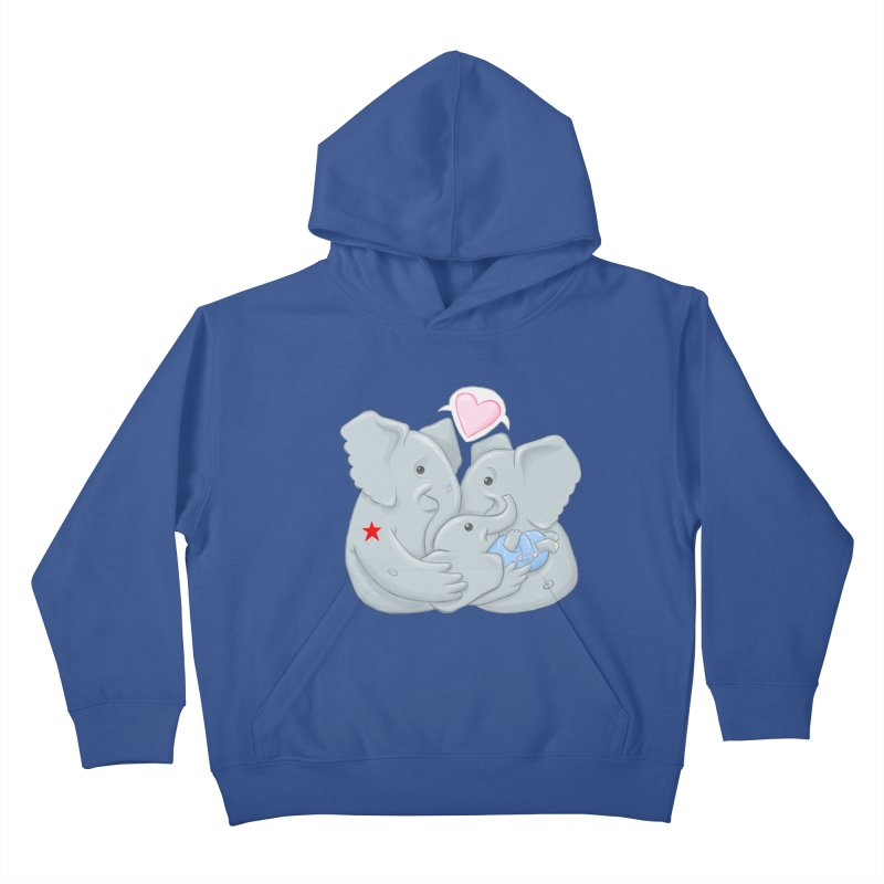 Huge Gift. Tiny Package. Kids Pullover Hoody by brandongarrison's Artist Shop