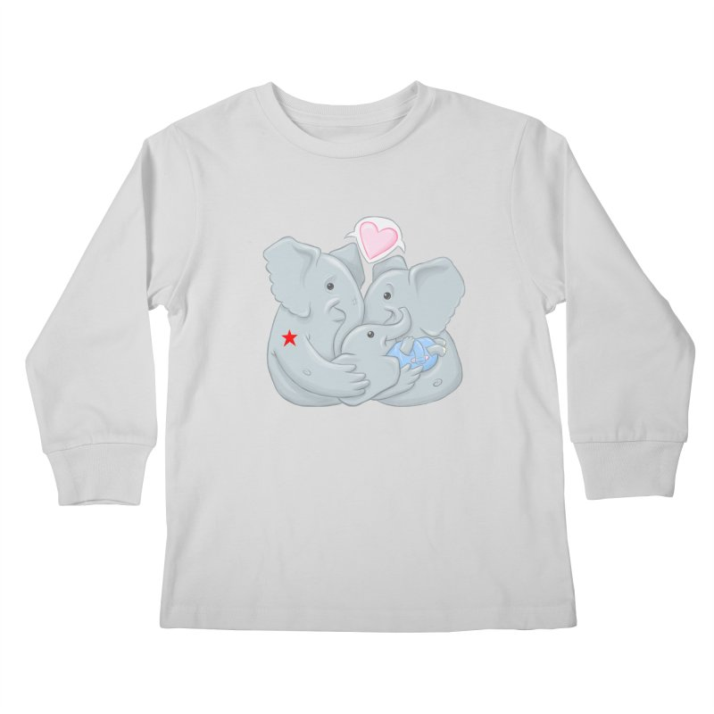 Huge Gift. Tiny Package. Kids Longsleeve T-Shirt by brandongarrison's Artist Shop