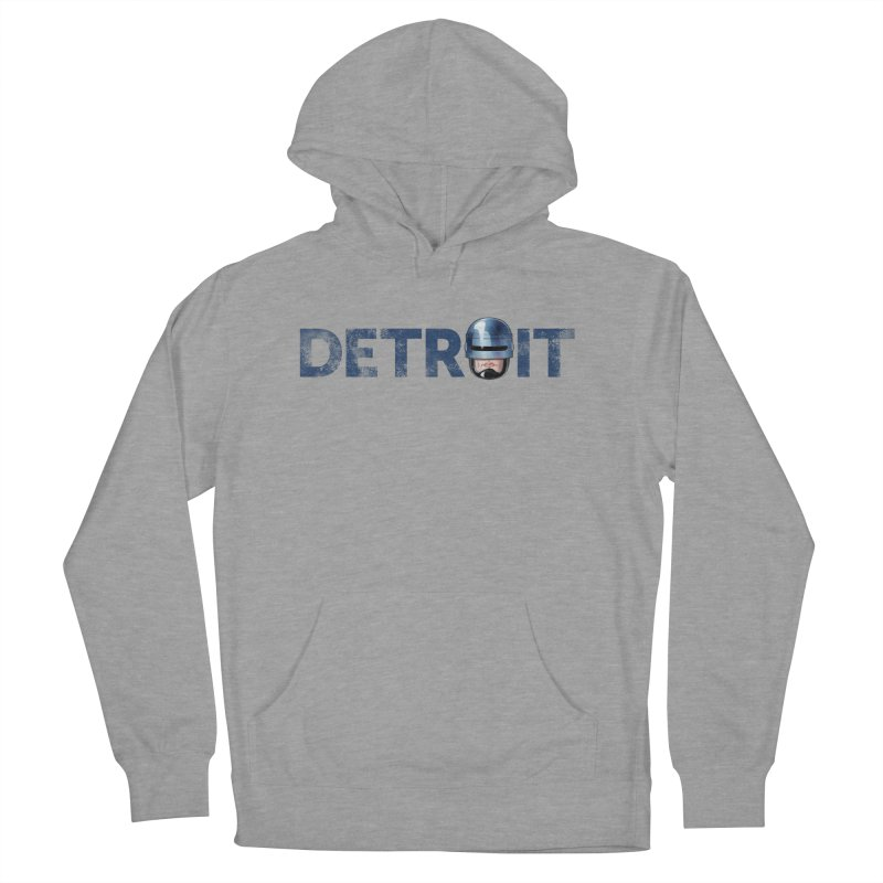 Robotroit- Blue Women's French Terry Pullover Hoody by brandongarrison's Artist Shop