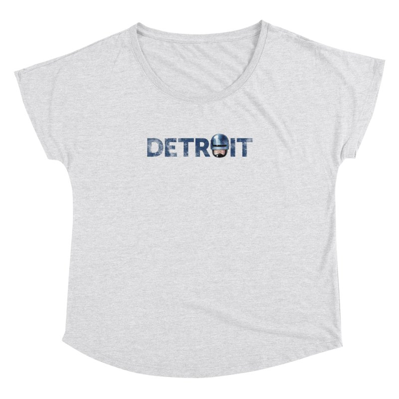 Robotroit- Blue Women's Dolman Scoop Neck by brandongarrison's Artist Shop
