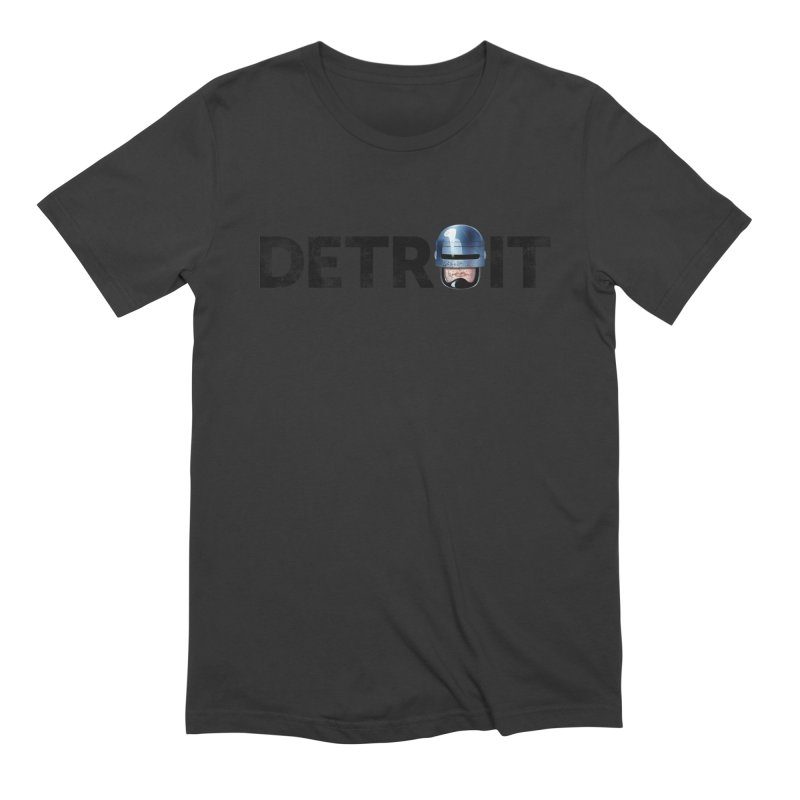 Robotroit- Black Men's Extra Soft T-Shirt by brandongarrison's Artist Shop