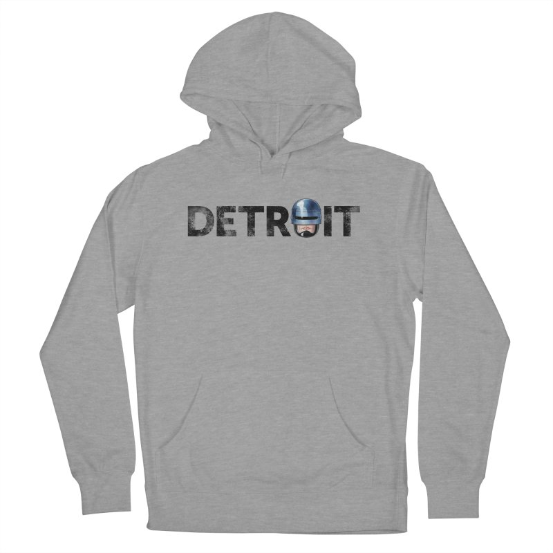 Robotroit- Black Women's French Terry Pullover Hoody by brandongarrison's Artist Shop