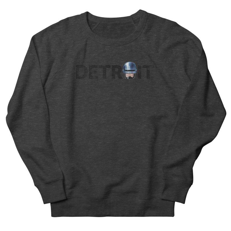 Robotroit- Black Women's French Terry Sweatshirt by brandongarrison's Artist Shop