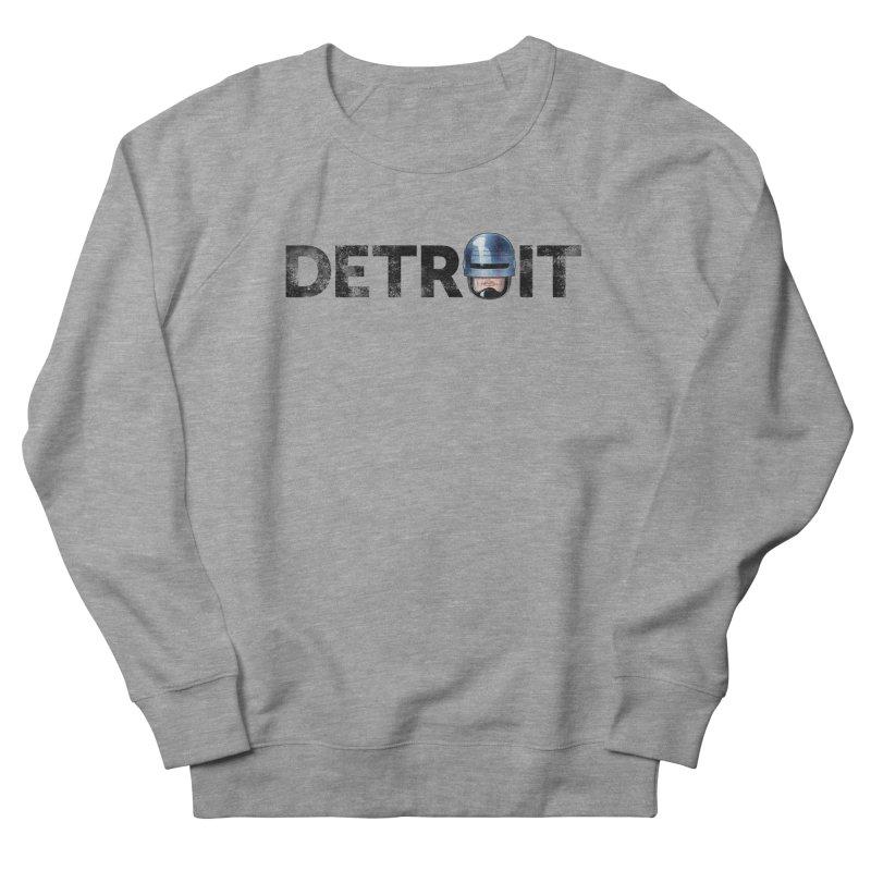 Robotroit- Black Men's French Terry Sweatshirt by brandongarrison's Artist Shop