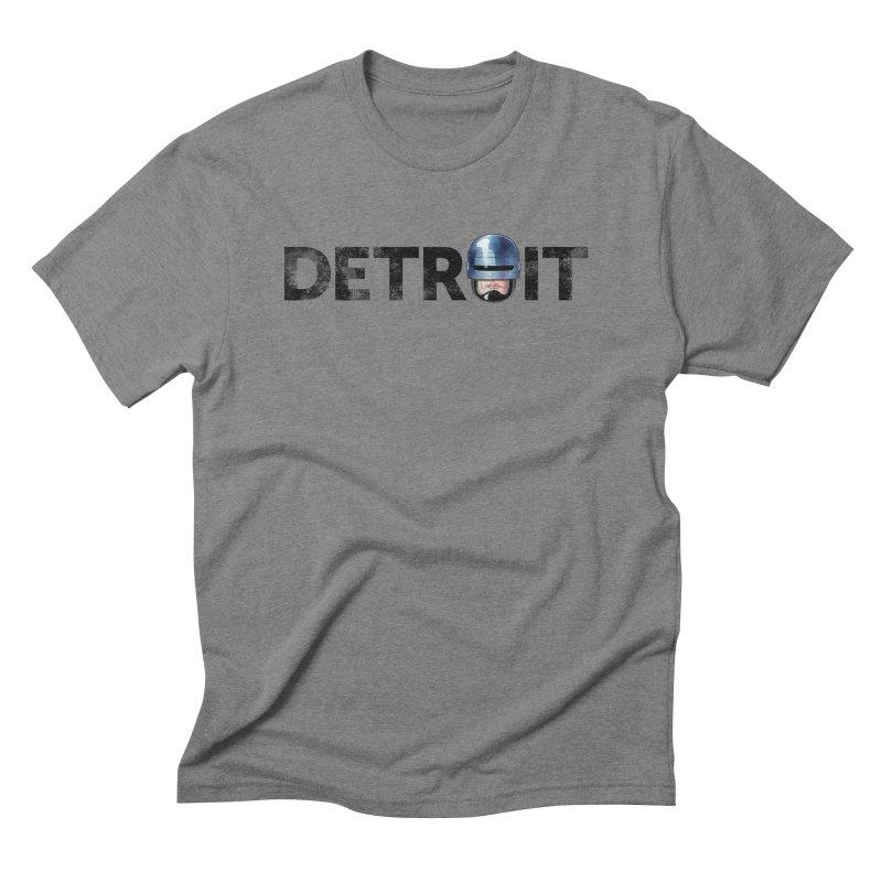 Robotroit- Black Men's Triblend T-Shirt by brandongarrison's Artist Shop