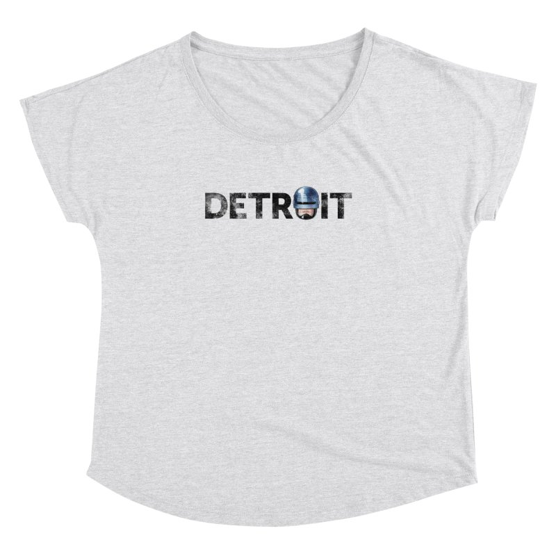 Robotroit- Black Women's Dolman Scoop Neck by brandongarrison's Artist Shop