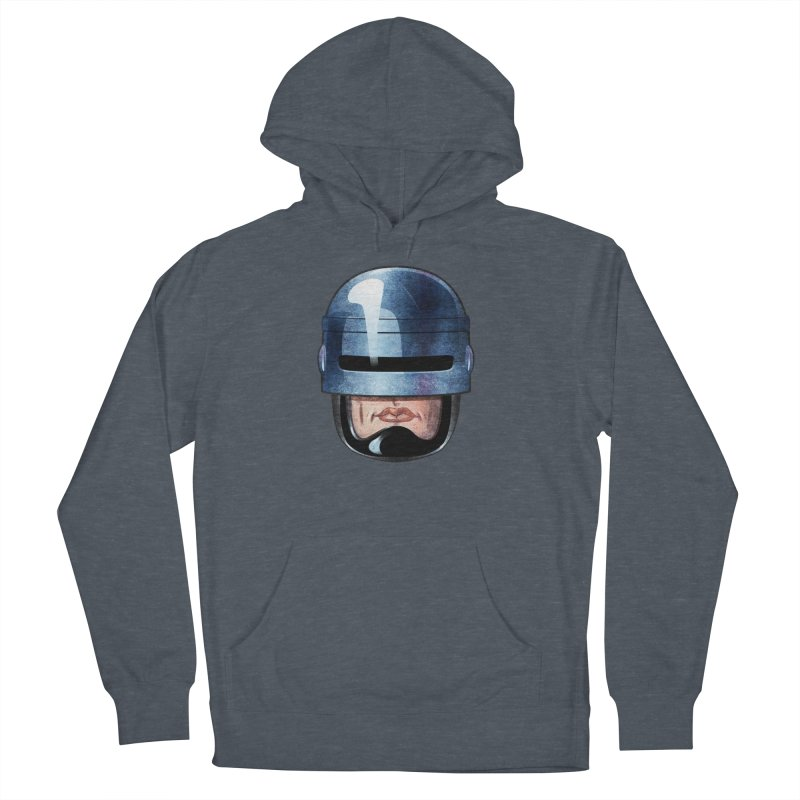 Robotroit— Just the face mame Men's French Terry Pullover Hoody by brandongarrison's Artist Shop