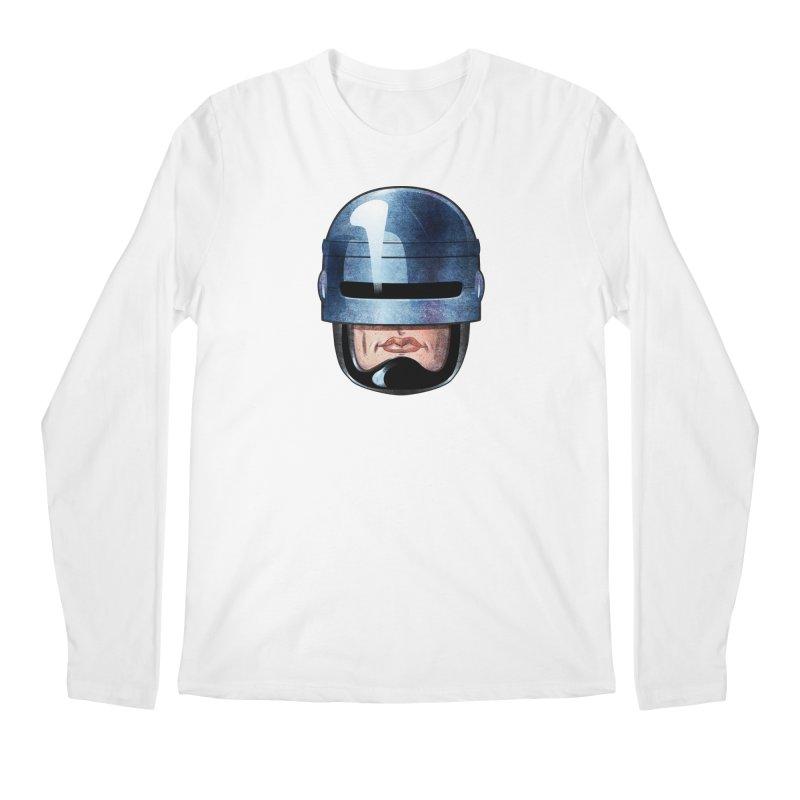 Robotroit— Just the face mame Men's Regular Longsleeve T-Shirt by brandongarrison's Artist Shop
