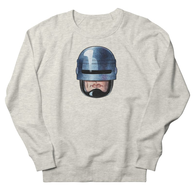 Robotroit— Just the face mame Women's French Terry Sweatshirt by brandongarrison's Artist Shop