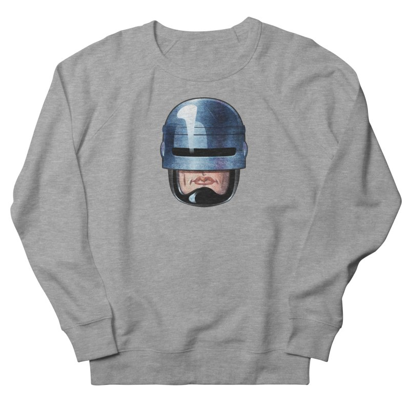 Robotroit— Just the face mame Men's French Terry Sweatshirt by brandongarrison's Artist Shop