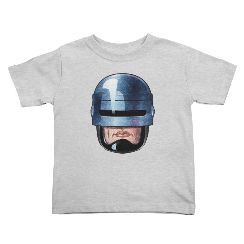 Robotroit— Just the face mame Kids Toddler T-Shirt by brandongarrison's Artist Shop