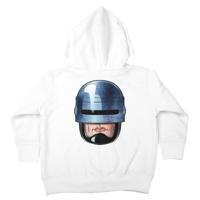 Robotroit— Just the face mame Kids Toddler Zip-Up Hoody by brandongarrison's Artist Shop