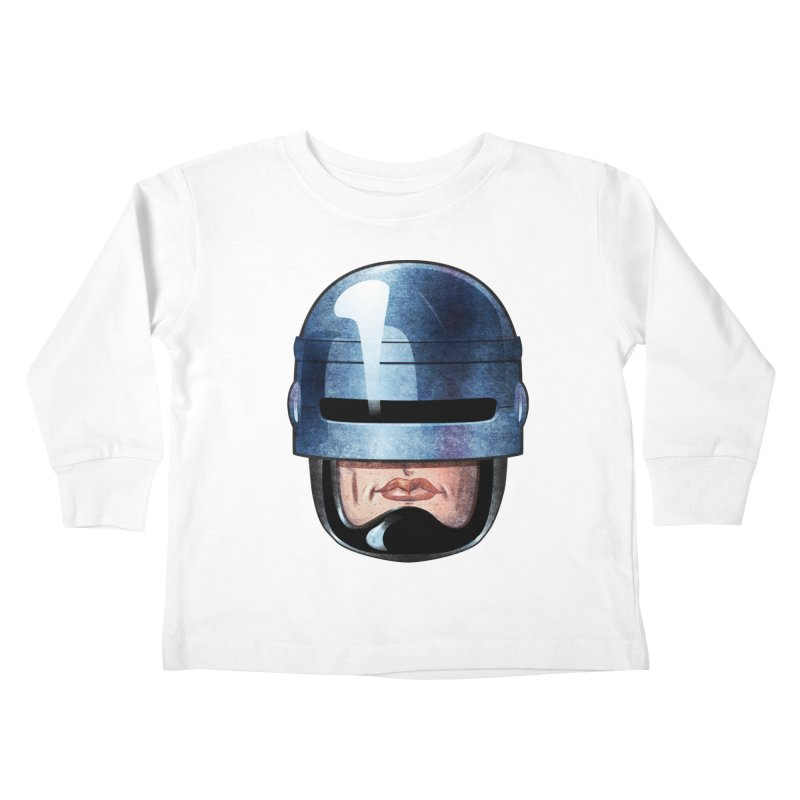 Robotroit— Just the face mame Kids Toddler Longsleeve T-Shirt by brandongarrison's Artist Shop