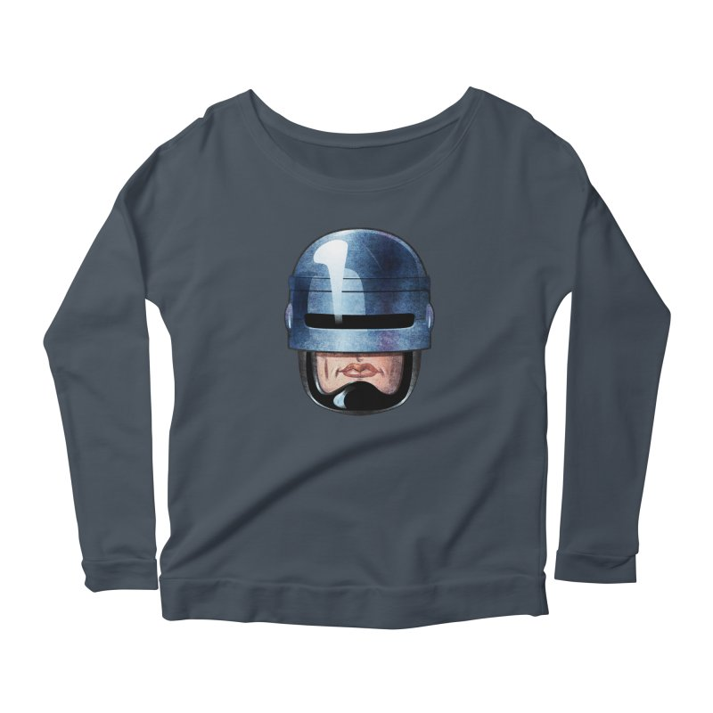 Robotroit— Just the face mame Women's Scoop Neck Longsleeve T-Shirt by brandongarrison's Artist Shop