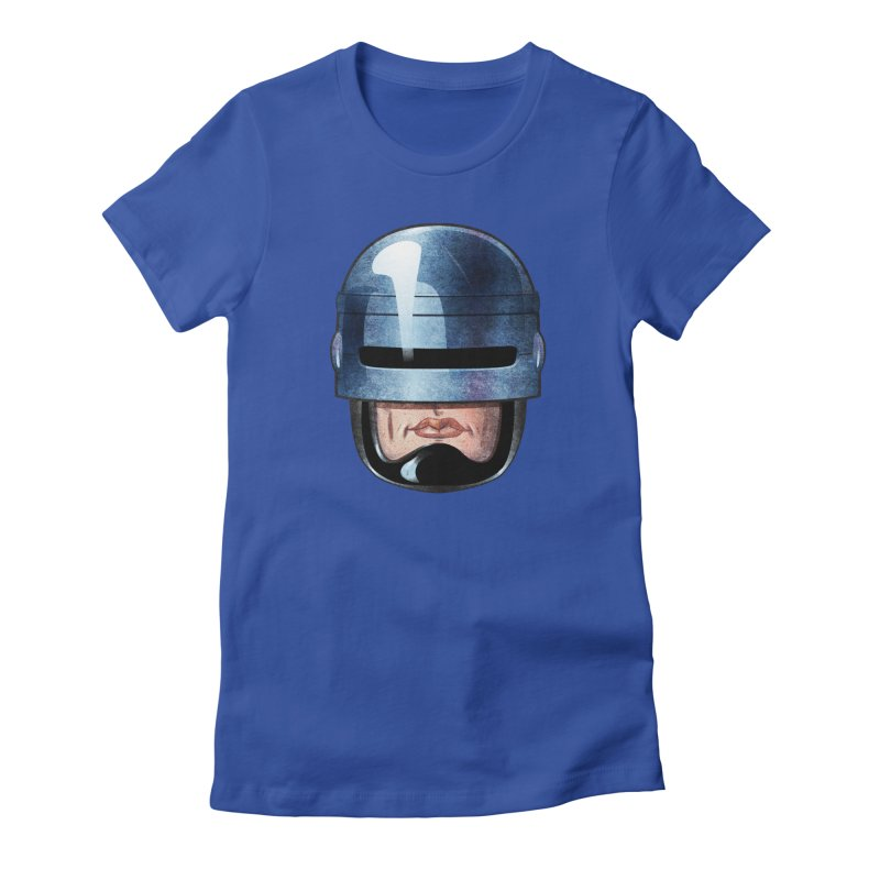 Robotroit— Just the face mame Women's Fitted T-Shirt by brandongarrison's Artist Shop