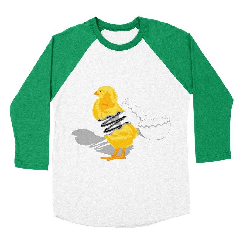 Spring Chicken Women's Baseball Triblend T-Shirt by brandonjw's Artist Shop