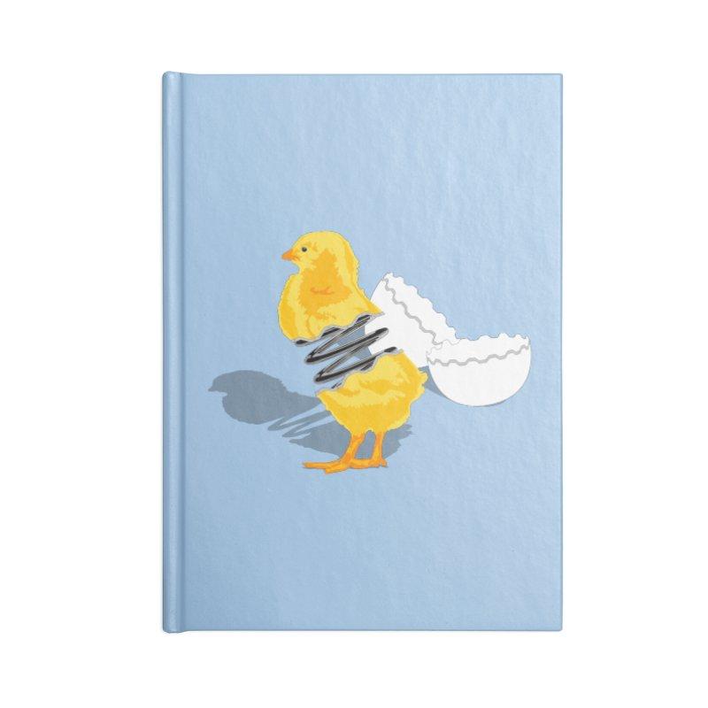 Spring Chicken Accessories Notebook by brandonjw's Artist Shop