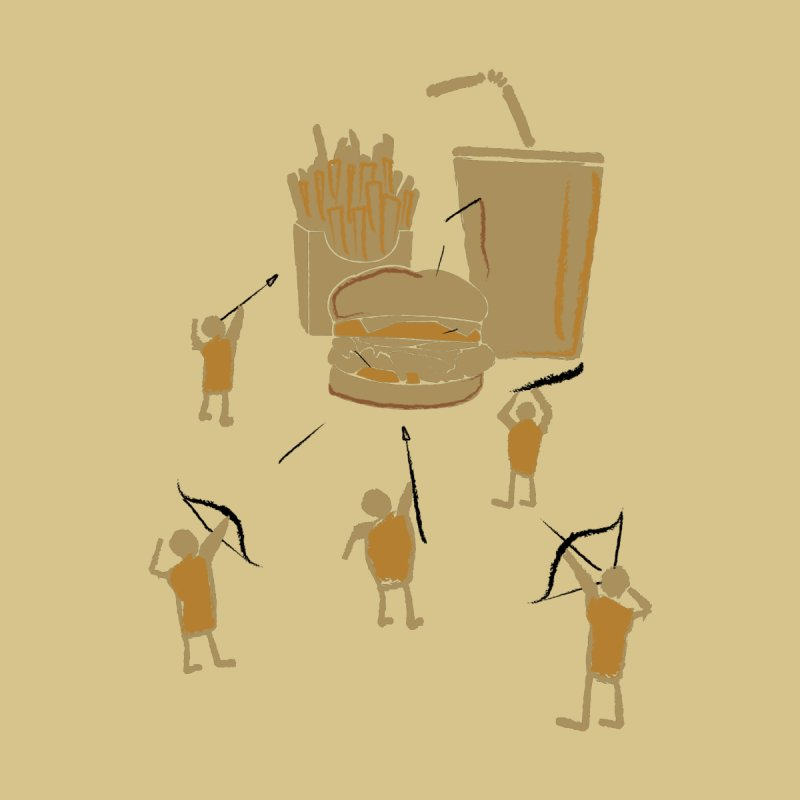 Hunting Party Finds Fast Food None  by brandonjw's Artist Shop