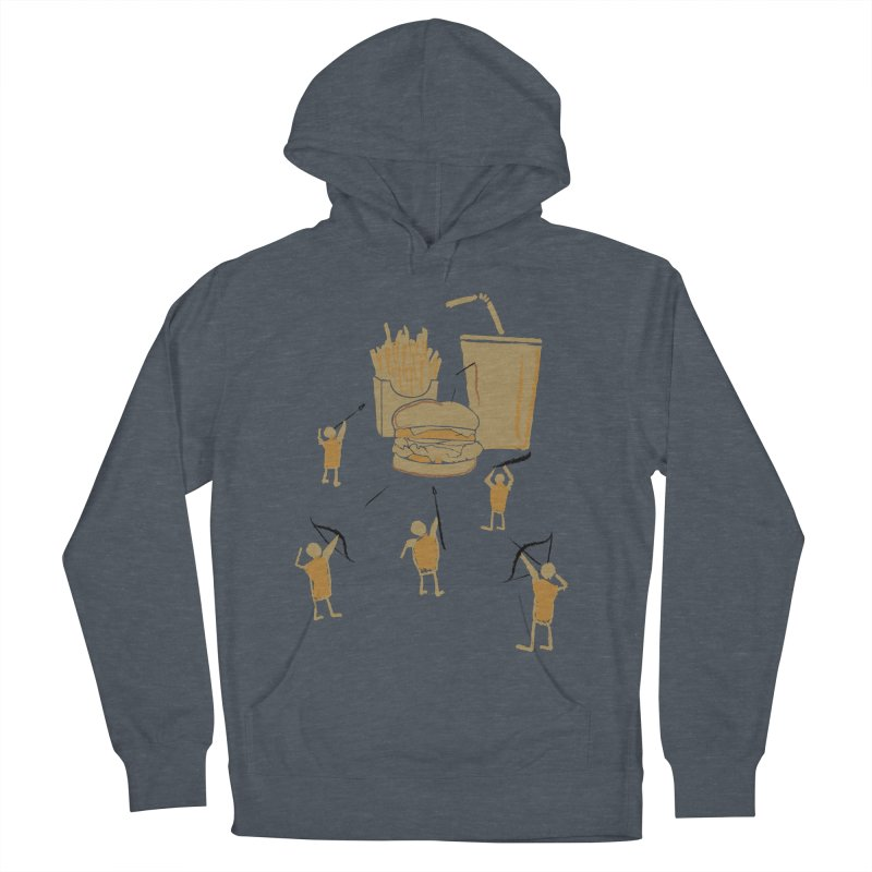 Hunting Party Finds Fast Food Men's Pullover Hoody by brandonjw's Artist Shop