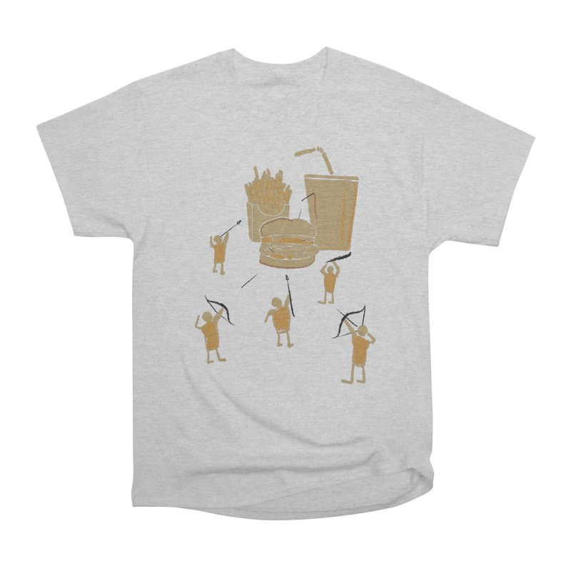Hunting Party Finds Fast Food Men's Classic T-Shirt by brandonjw's Artist Shop