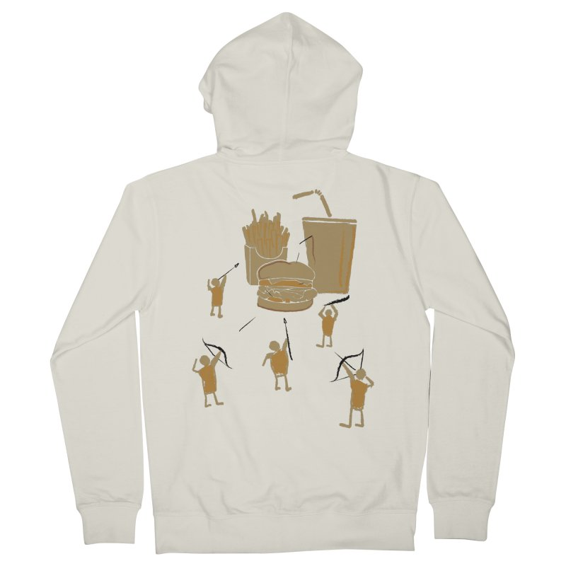 Hunting Party Finds Fast Food Men's Zip-Up Hoody by brandonjw's Artist Shop