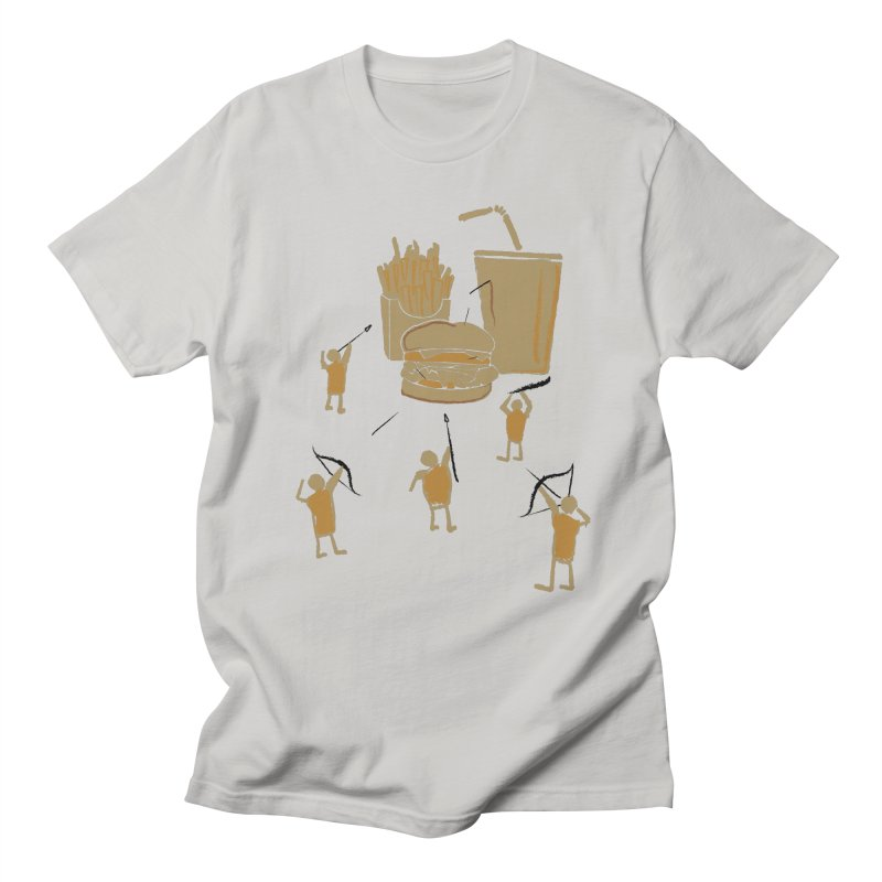 Hunting Party Finds Fast Food Men's T-Shirt by brandonjw's Artist Shop