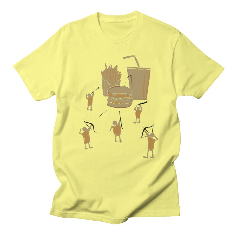 Hunting Party Finds Fast Food Women's Unisex T-Shirt by brandonjw's Artist Shop