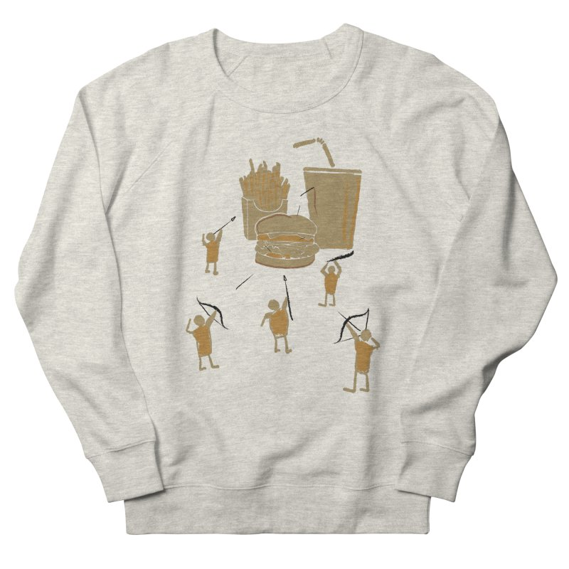 Hunting Party Finds Fast Food Women's Sweatshirt by brandonjw's Artist Shop